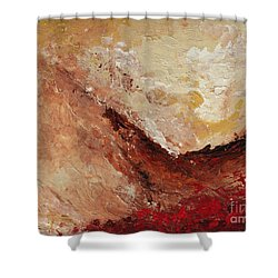 Molten Lava Shower Curtain