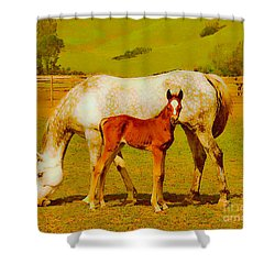 Mom And Me Shower Curtain
