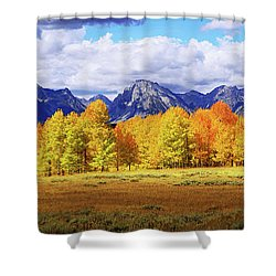 Moment Shower Curtain by Chad Dutson