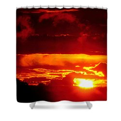 Moment Of Majesty Shower Curtain by Bruce Patrick Smith