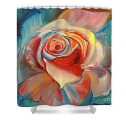 Mon Ami Shower Curtain by Jenny Lee