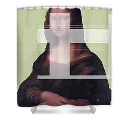 Mona 1 Shower Curtain
