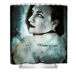 Mona 1 Shower Curtain by Mark Baranowski