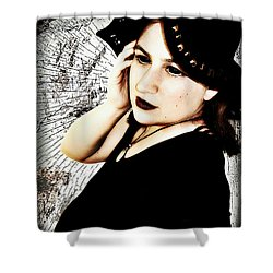 Mona 3 Shower Curtain