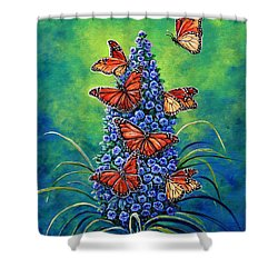 Monarch Waystation Shower Curtain