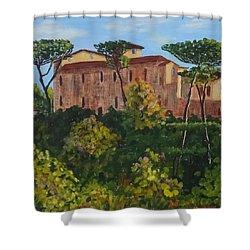 Monastero Shower Curtain