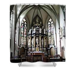 Monastery Church Oelinghausen, Germany Shower Curtain