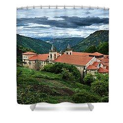 Monastery Of Santo Estevo De Ribas Del Sil Shower Curtain