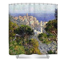 Monet: Bordighera, 1884 Shower Curtain by Granger