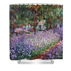 Monet: Giverny, 1900 Shower Curtain by Granger