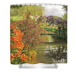 Monet Park Shower Curtain