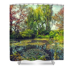 Monet's Afternoon Shower Curtain