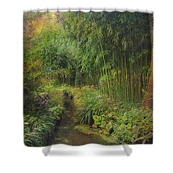 Monets Paradise Shower Curtain
