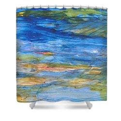 Monet's Pond Shower Curtain