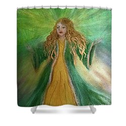 Money Deva Shower Curtain