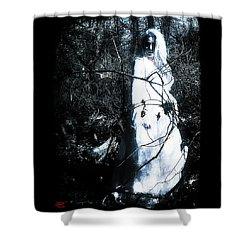 Monique 3 Shower Curtain