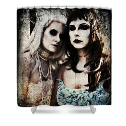 Monique And Ryli 1 Shower Curtain by Mark Baranowski