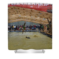 Monkey Bars Shower Curtain by Randy J Heath