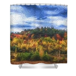 Monkton Ridge, Vt Shower Curtain