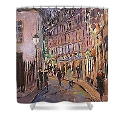 Monmartre Shower Curtain