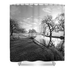 Mono Bushy Park Uk Shower Curtain