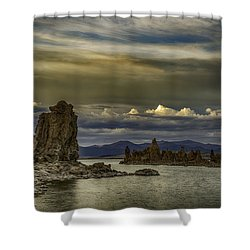 Mono Lake, Fall Sunset Shower Curtain