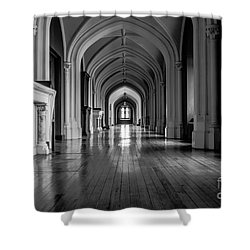 Mono Melleray Corridor Shower Curtain
