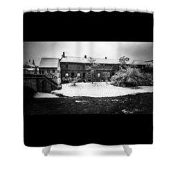 #monochrome #blackandwhite #bnw Und Shower Curtain by Mandy Tabatt