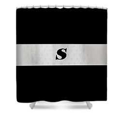 Monogram S Shower Curtain