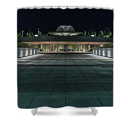 Monona Terrace Shower Curtain