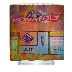 Monopoly Dream Shower Curtain