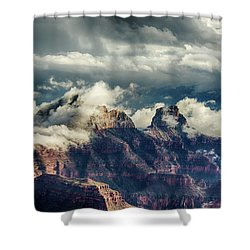 Monsoon Clouds Grand Canyon Shower Curtain