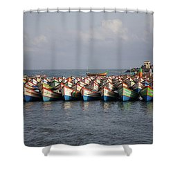 Monsoon Mooring Shower Curtain