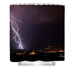 Monsoon Storm Shower Curtain