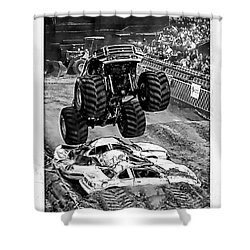 Monster Truck 2b Shower Curtain