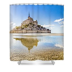 Mont Saint Michel Shower Curtain