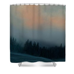 Shower Curtain featuring the photograph Mont Tremblant Vista by Jim Vance
