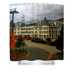 Mont Tremblant,quebec,canada Shower Curtain