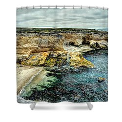 Montana Del Oro Shower Curtain
