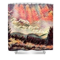 Montana Magic  Shower Curtain