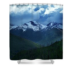 Montana Mountain Vista #2 Shower Curtain