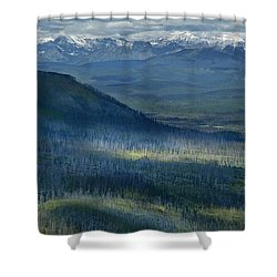 Montana Mountain Vista #3 Shower Curtain