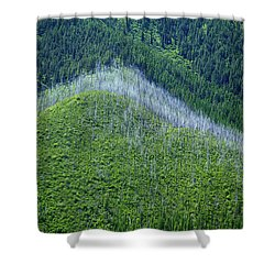 Montana Mountain Vista #4 Shower Curtain