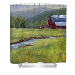 Montana Ranch Shower Curtain