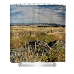 Montana Route 200 Shower Curtain