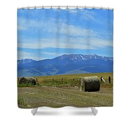 Montana Scene Shower Curtain