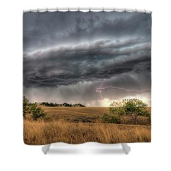 Montana Storm Shower Curtain