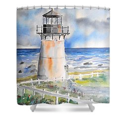Montara Lighthouse Shower Curtain
