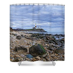 Montauk Lighthouse Shower Curtain