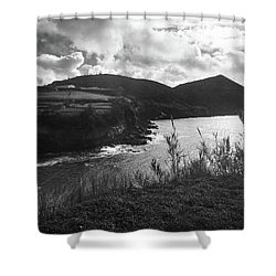 Shower Curtain featuring the photograph Monte Brasil, Terceira by Kelly Hazel